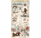 Papel Decoupage Dayka Trade de 32 x 64 cm Rock & Roll