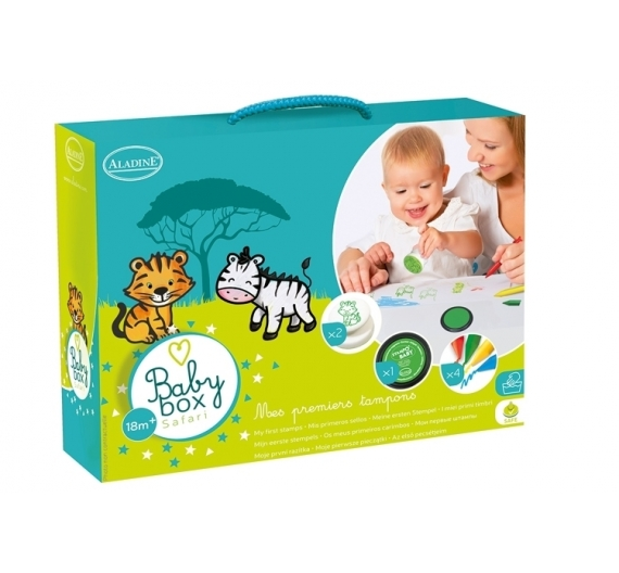 Kit de sellos infantiles Safari