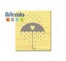 Sello de Madera de Artemio, Umbrella.