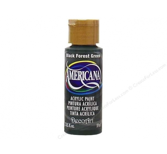 Americana Black Forest Green de 59ml