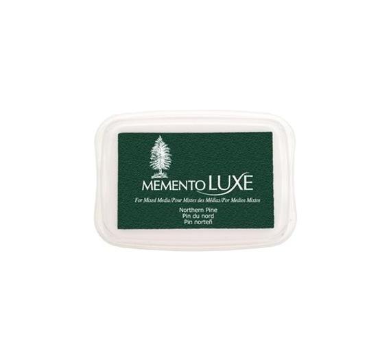 Tinta Memento Luxe  tampon de 50gr, Northen Pine