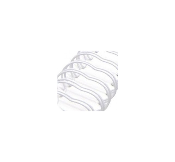 Anilla wire blanco 38,10 mm , 1 unid