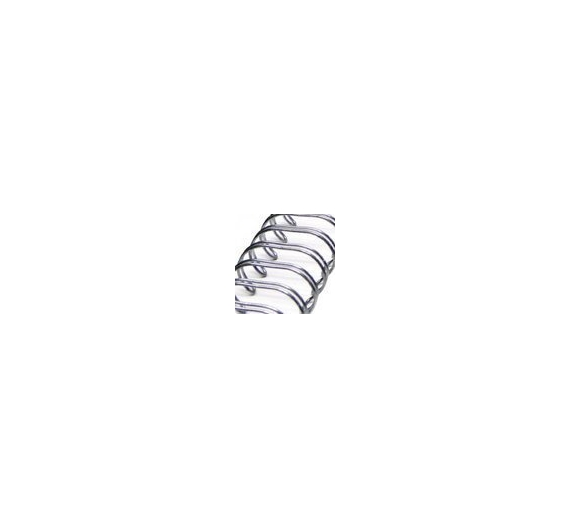 Anilla wire plata 38,10 mm , 1 unid
