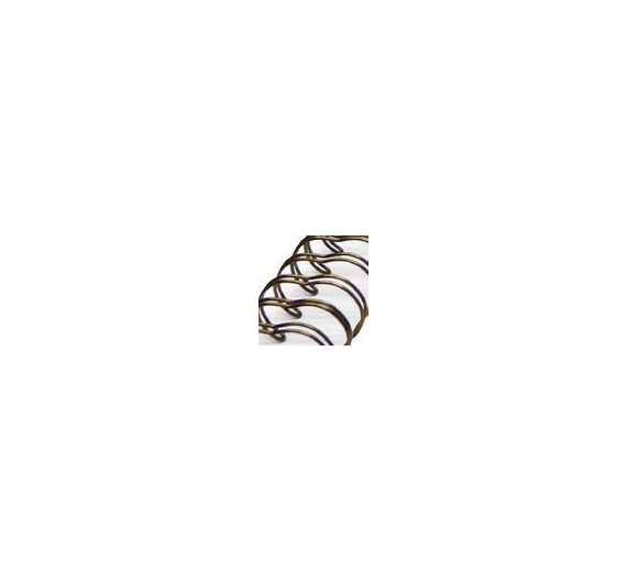 Anilla wire bronce 31mm , 1unid