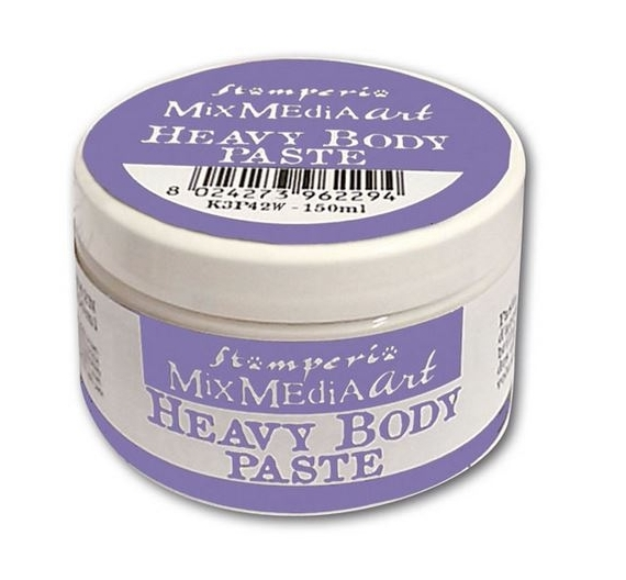 Heavy body paste 150 ml. White