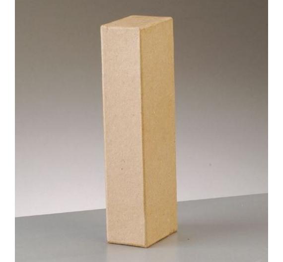 Letras de papel kraft de 10 cm de alto letra I
