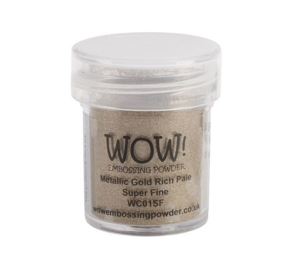 Wow Embossing Powder , Gold Rich  Regular