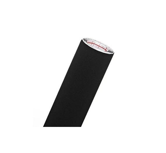 Terciopelo Adhesivo  de color negro Tamaño de 0,45  x 50 cm