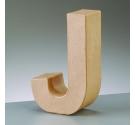Letras de cartón  tamaño de 17,5 x 17,5 x 5,5 cm