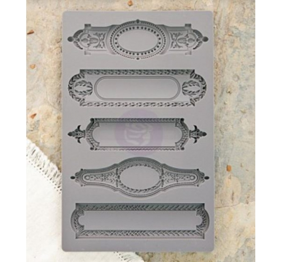 Object labels 2 - Iod vintage art decor mould PRIMA MARKETING