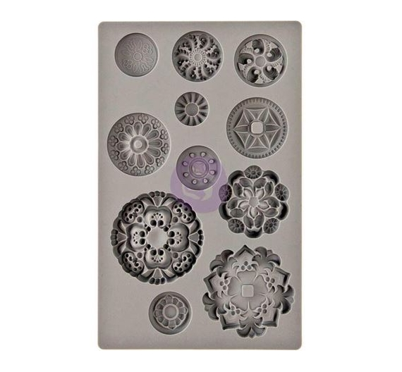 Medallions Iod decor mould PRIMA MARKETING