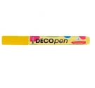 Rotulador Permanente Deco Pen Color Yelow.