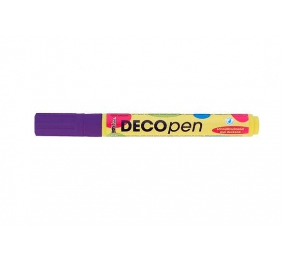 Rotulador Permanente Deco Pen Color Violet.
