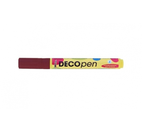 Rotulador Permanente Deco Pen Color Brown.