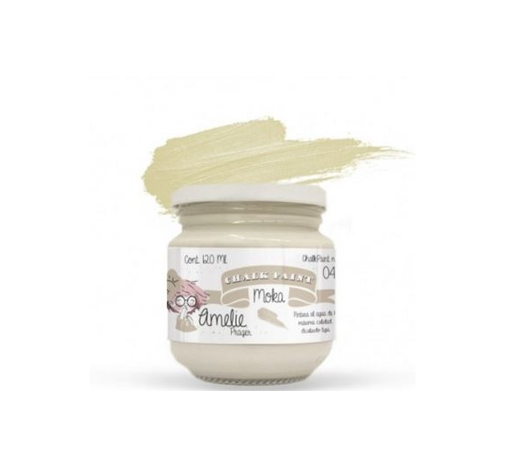 Chalk Paint Amelie de 120 ml color Moka