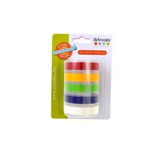 Tape adhesiva para etiquetadora Click Click