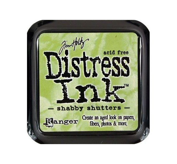 Tinta Distress Ink ,Shabby Shutters