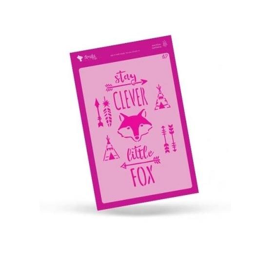 Stencil colección Amelie Little Foxy 20 X 30 CM