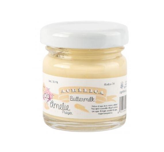 Pintura Acrilica Amelie de 30 ml Buttermilk