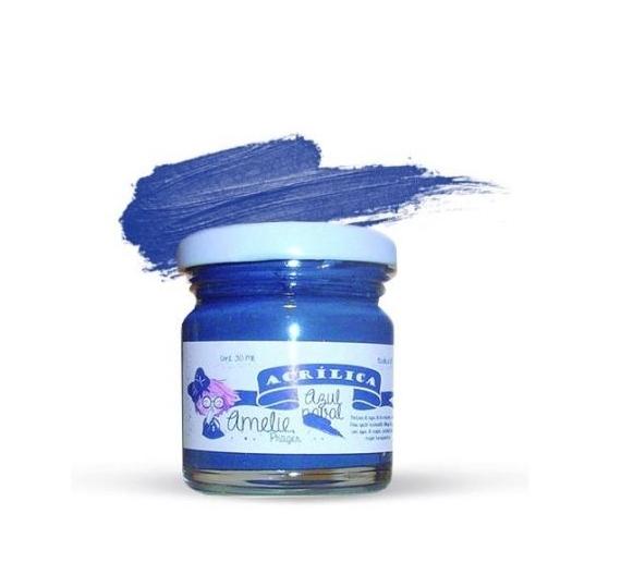 Pintura Acrilica Amelie de 30 ml Azul naval