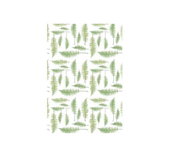 Papel especial para cartonaje de 32 x 46 cm Helecho