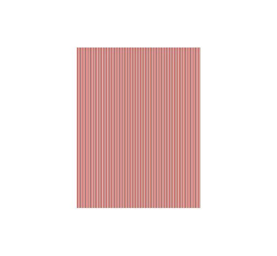 Papel especial para cartonaje de 32 x 46cm Raya fina Rojo