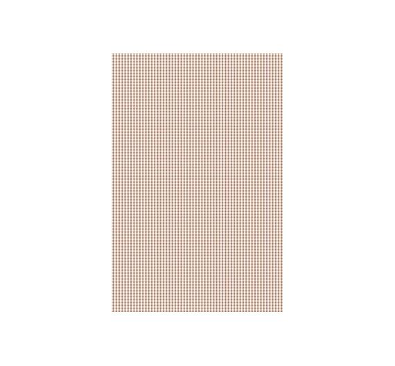 Papel especial para cartonaje de 32 x 46cm Mini Vichy Marrón