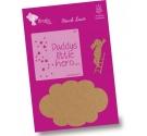 Kit de  Dos siluetas Elefantita + nube con stencil
