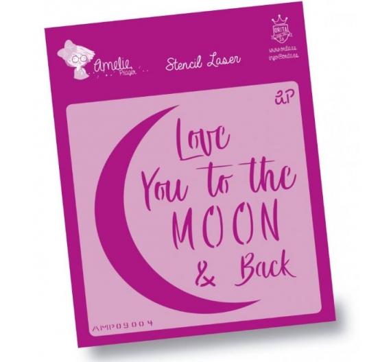 Stencil Amelie 15 x 15 cm Luna