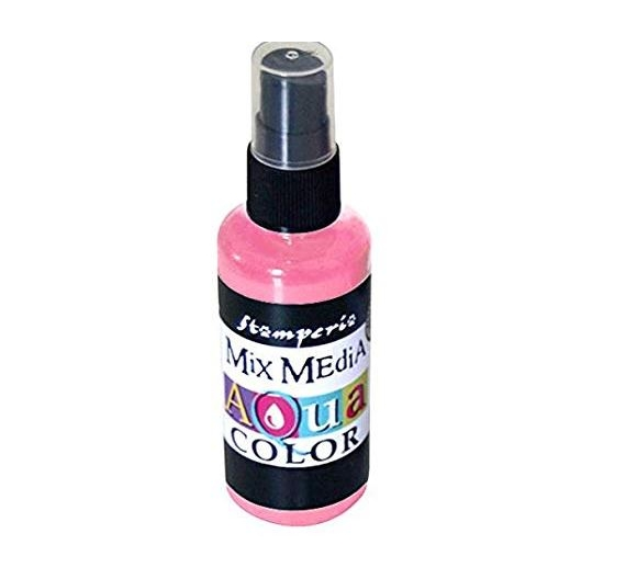 Aquacolor spray 60ml.Baby Pink