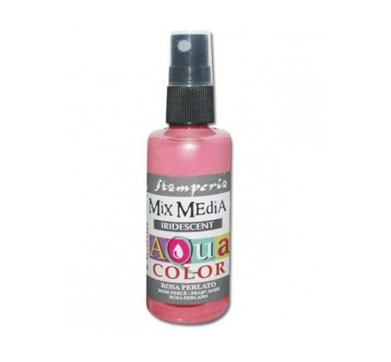 Aquacolor spray 60ml.Pink Perlado