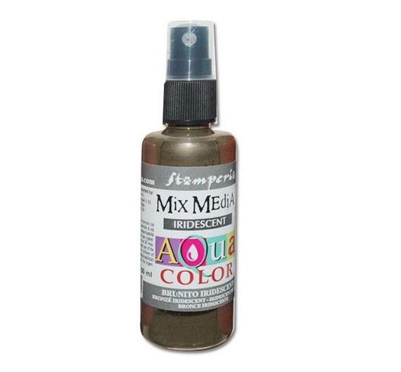 Aquacolor spray 60ml.Iridescent bronze