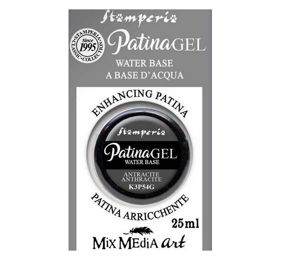 Patina Gel in blister 25ml Anthracite