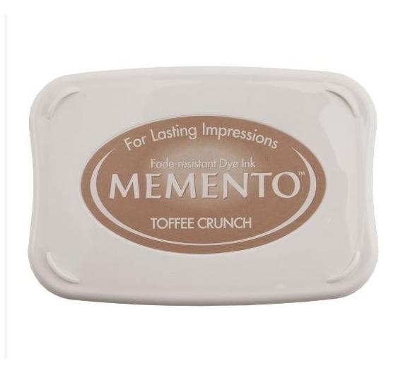 Tinta Memento 85gr Toffee Crunch