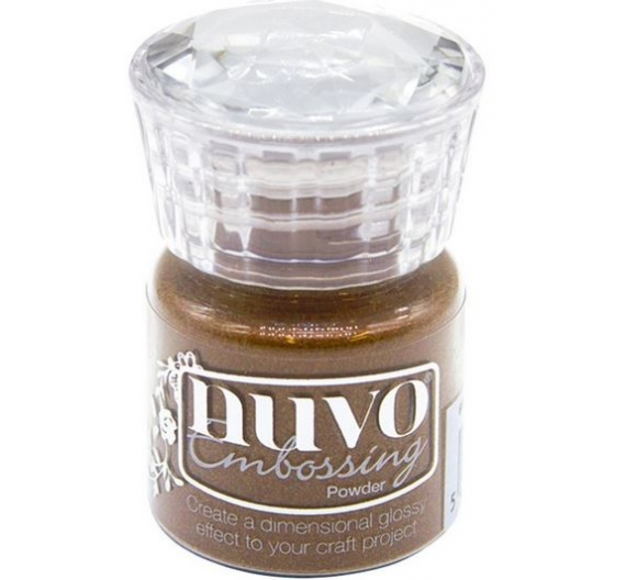 NUVO GLITTER EMBOSSING POWDER COPPER 22ml.