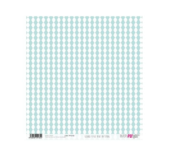 Papel de Arroz de 30,5 x 30,5 , Mini Patterns