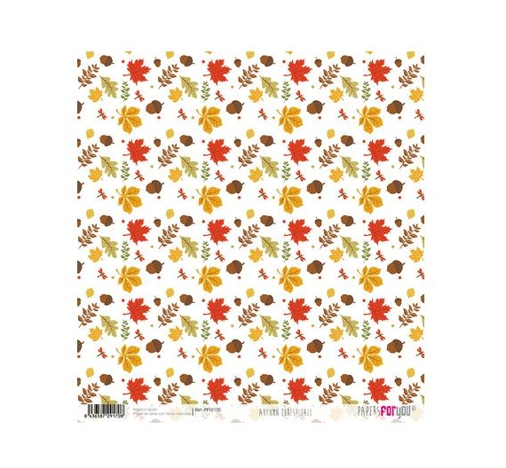 Papel de Arroz de 30,5 x 30,5 , Autumn