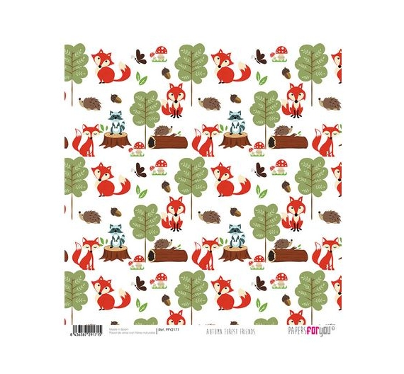 Papel de Arroz de 30,5 x 30,5 , Forest