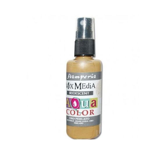Aquacolor spray 60ml. - Pearl gold