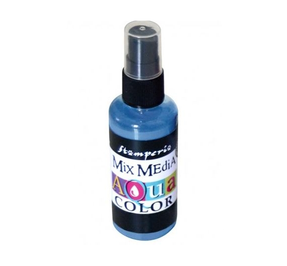 Aquacolor spray 60ml. - Carta da zucchero light blue