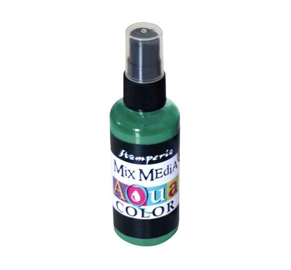 Aquacolor spray 60ml. - Dark green