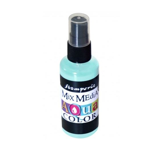Aquacolor spray 60ml. - Water green