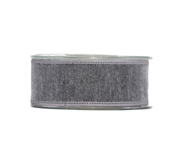 CINTA SHABBY CHIC 40MM.X1MT GRIS