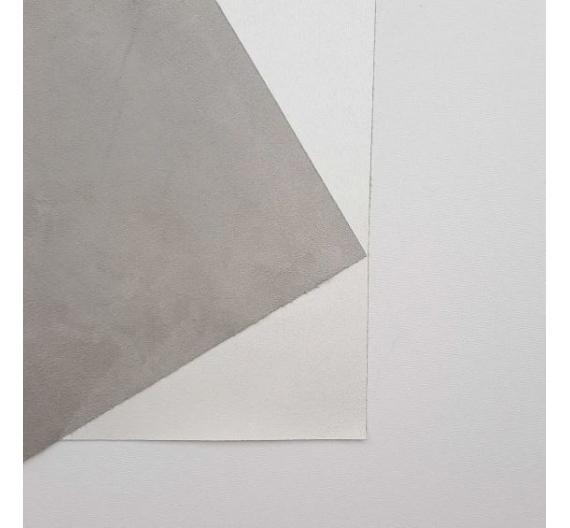 Ecopiel Ante Grey / White 50x70 cm