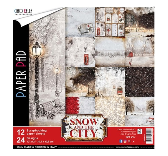 Paper Pad Snow City de Ciao Bella