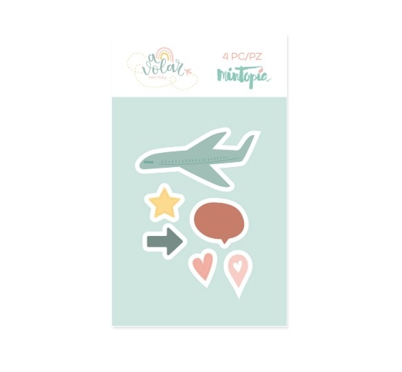 Troquel  A volar Iconos  , Mintopia