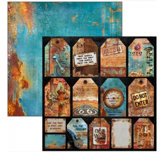 Papel Ciao Bella 30 cm Rusted Tags