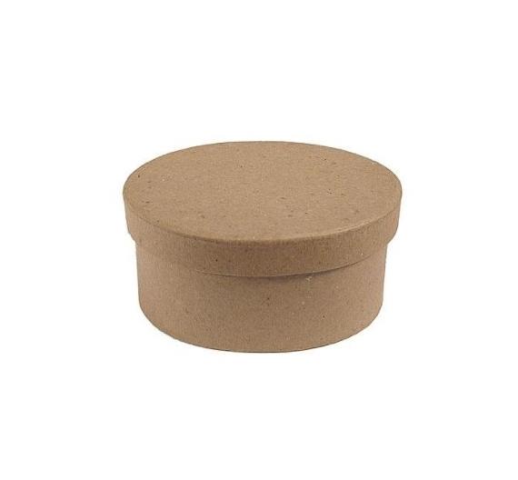 Caja papel maché oval 22 cm