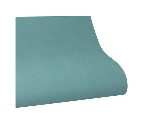 ECOPIEL LISA 33X50cm. Verde Aqua.
