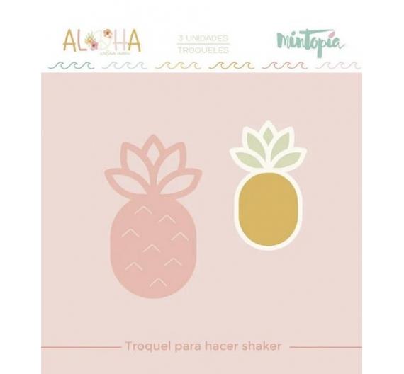 Troquel  Mintopia Piña Shaker  Aloha